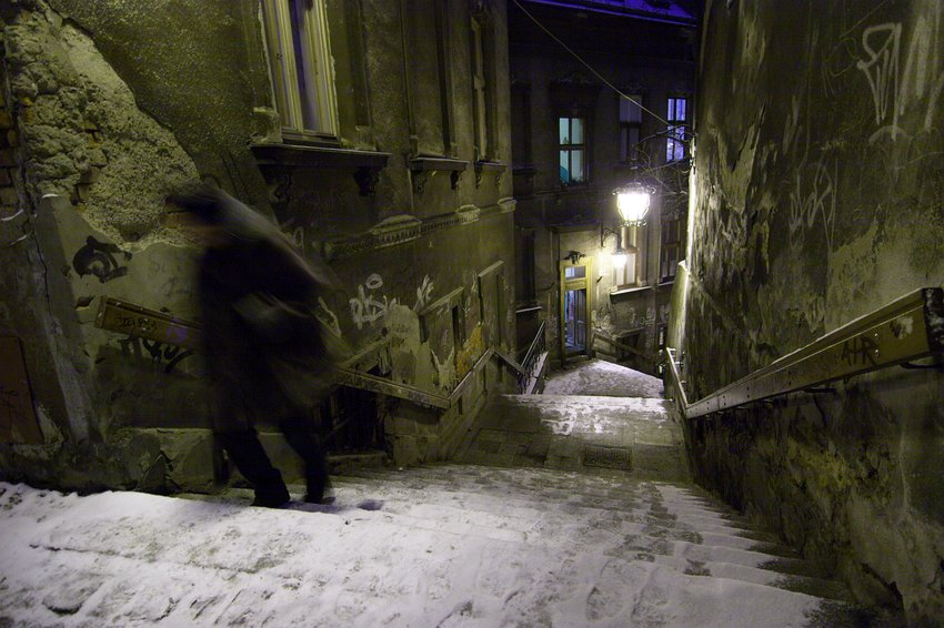 Bielsko-Biała nocą